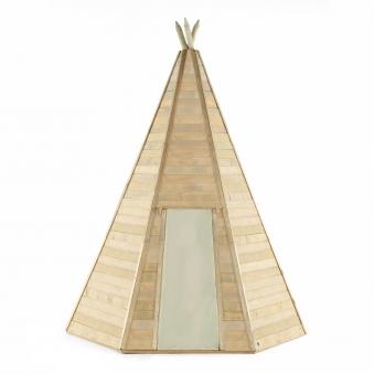 Indianerhütte Plum Tipi Holz Ø220xH330cm Bild 3