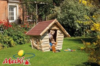 Kinderspielhaus Weka Mecki ohne Terrasse 164x148x140cm Bild 1