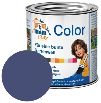 Multi-Play Color Naturöl Farbe / Holzschutzfarbe 375ml dunkelblau Bild 1
