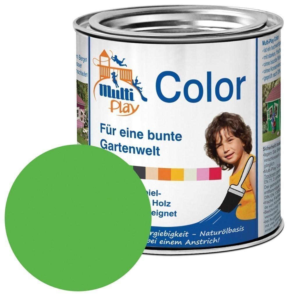 Multi-Play Color Naturöl Farbe / Holzschutzfarbe 375ml grün Bild 1