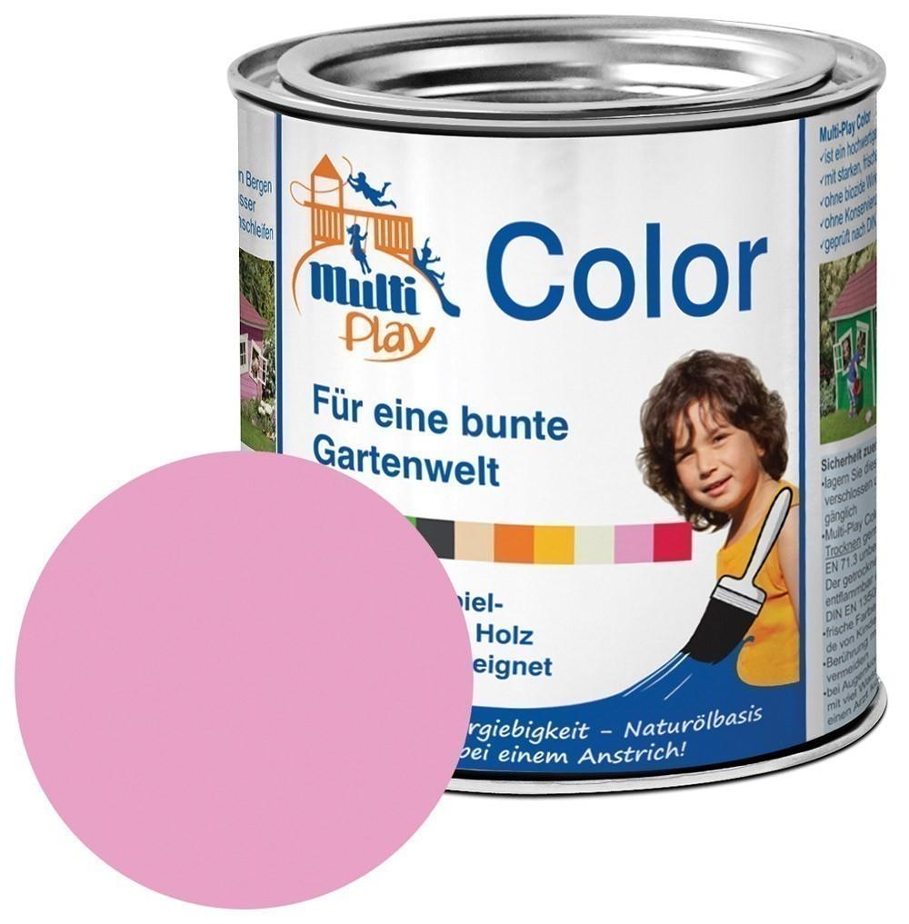 Multi-Play Color Naturöl Farbe / Holzschutzfarbe 375ml rosa Bild 1