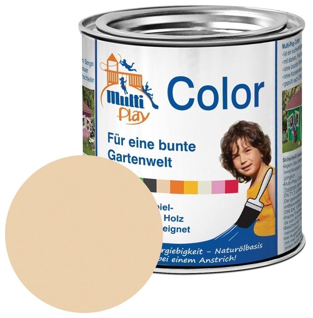 Multi-Play Color Naturöl Farbe / Holzschutzfarbe 375ml sand Bild 1