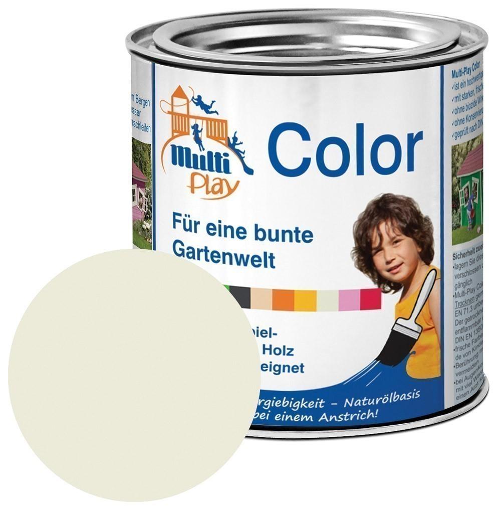 Multi-Play Color Naturöl Farbe / Holzschutzfarbe 375ml weiß Bild 1