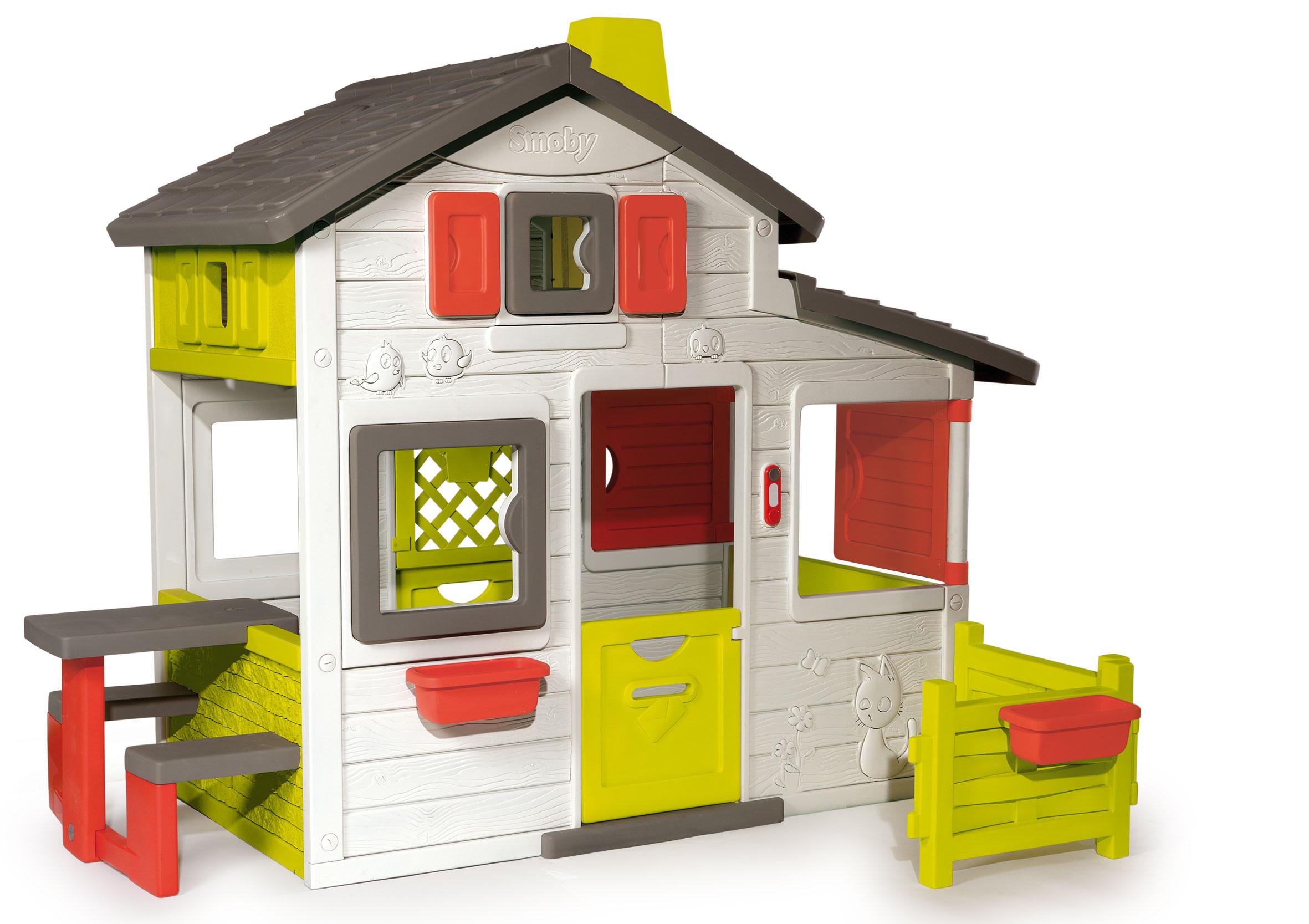 Smoby Spielhaus / Kinderspielhaus Friends Haus Kunststoff Bild 2