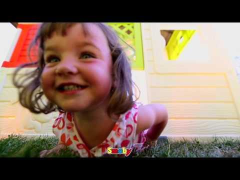 smoby spielhaus / kinderspielhaus friends haus kunststoff - bei