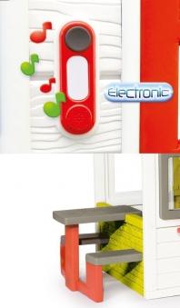 smoby spielhaus kinderspielhaus friends haus kunststoff. Black Bedroom Furniture Sets. Home Design Ideas
