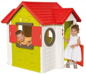 Smoby Spielhaus / Kinderspielhaus Mein Haus Kunststoff Bild 2