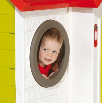 Smoby Spielhaus / Kinderspielhaus Mein Haus Kunststoff Bild 3