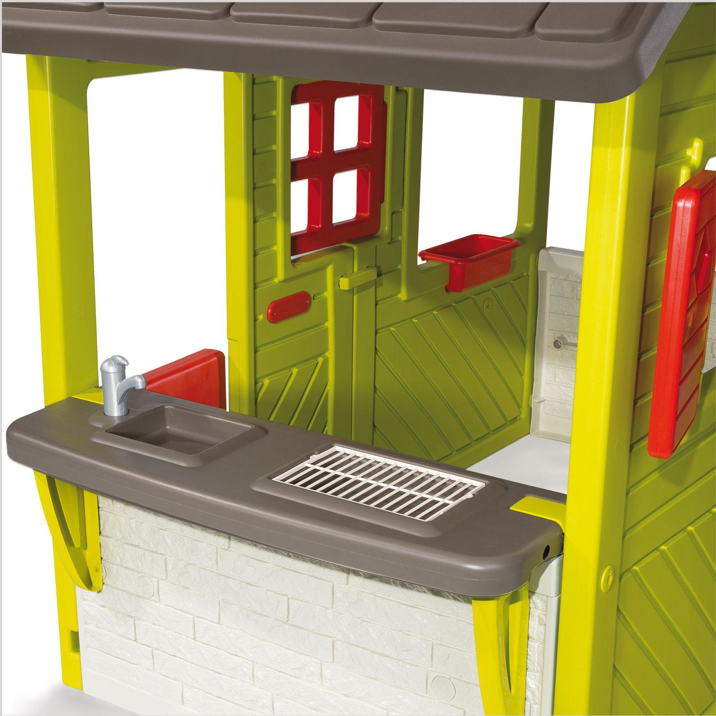 Smoby Spielhaus / Kinderspielhaus Neo Floralie Kunststoff Bild 3