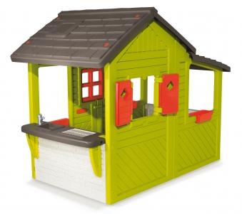 Smoby Spielhaus / Kinderspielhaus Neo Floralie Kunststoff Bild 2