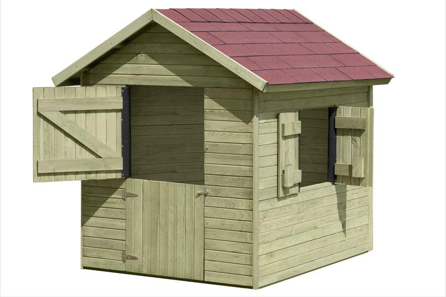 kinder holzhaus interesting with kinder holzhaus awesome. Black Bedroom Furniture Sets. Home Design Ideas