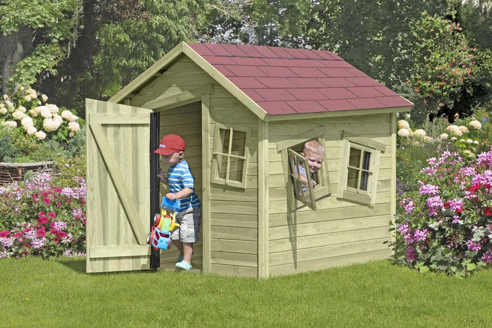 Spielhaus / Kinderspielhaus CRAZY Bastian 150x165x160cm Bild 1