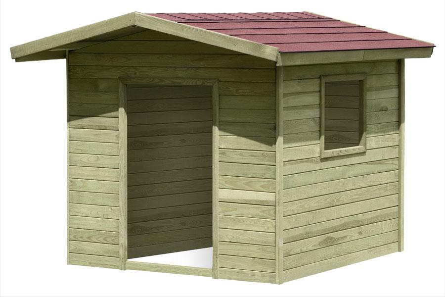 Spielhaus / Kinderspielhaus Henrik 150x150x123cm Bild 2