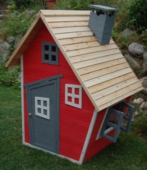 Spielhaus / Kinderspielhaus Knusperhäuschen 120x100x170cm Bild 1