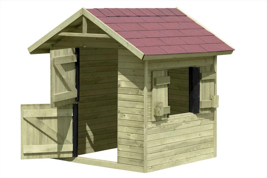 Spielhaus / Kinderspielhaus Olli 150x150x160cm Bild 2