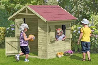 Spielhaus / Kinderspielhaus Olli 150x150x160cm Bild 1
