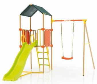Kettler Anbauschaukel / Zubehör zu Spielturm mit Rutsche S01013-0010 Bild 2