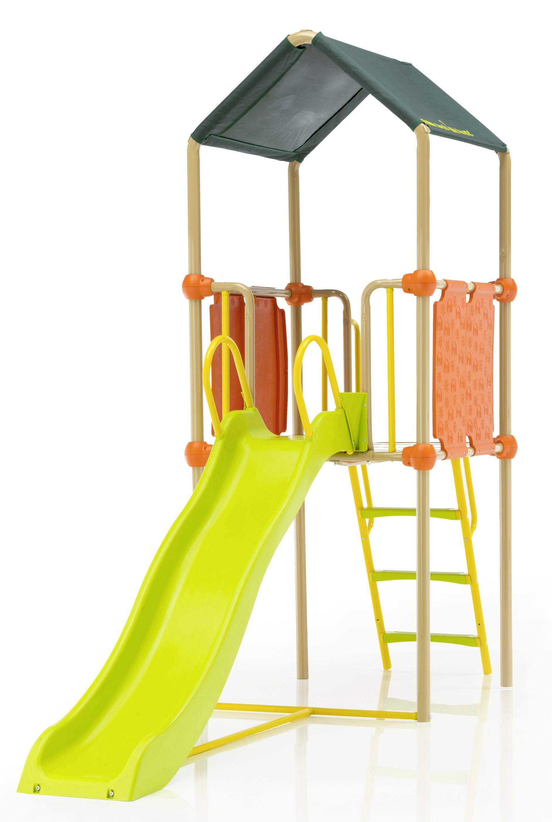 Kettler spielturm mit rutsche s01013 0000 bei for Gartenpool mit rutsche