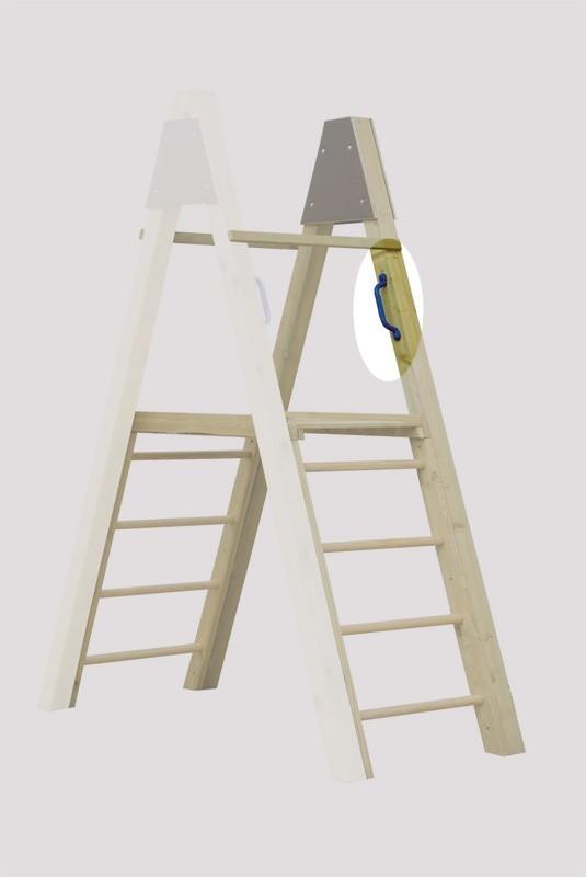 Karibu Akubi Handgriff / Kunststoffgriff 2er-Set blau Bild 2