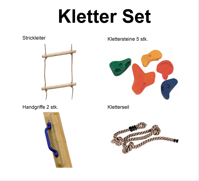 Karibu Akubi Kletter-Set für Spieltürme Bild 1