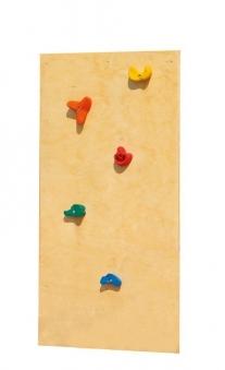 Karibu Akubi Kletterwand Classic für Kinderspielsysteme 75x152 cm Bild 1