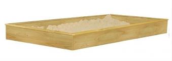 Karibu Akubi Sandkasten für Stelzenhaus Gernegroß und Benjamin Bild 1