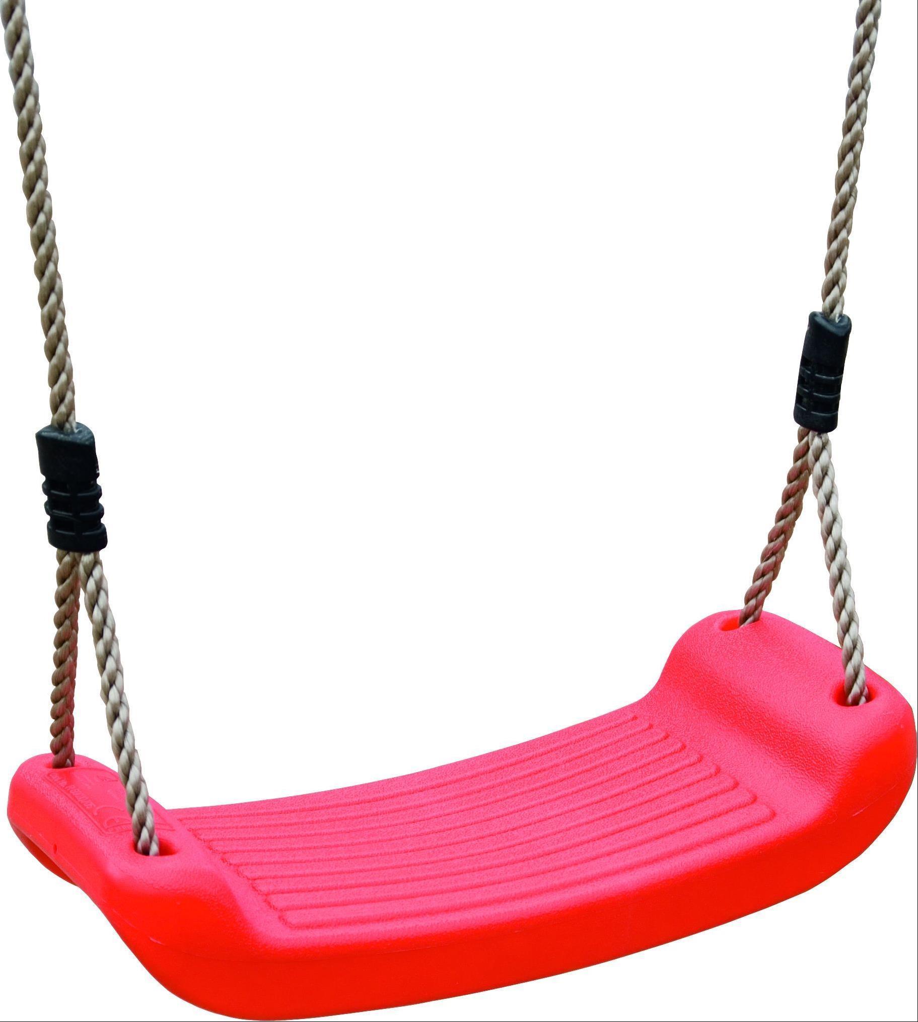 Spielturm Karibu Akubi Danny Set B Doppelschaukel +Rutsche rot Bild 6