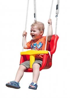 Babyschaukel Sitz Multi Play Kunststoff Luxe mit Seil Bild 2