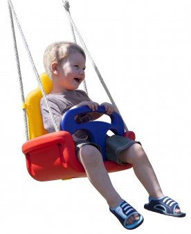 Babyschaukel Sitz Multi Play verstellbar mit Seil Bild 4