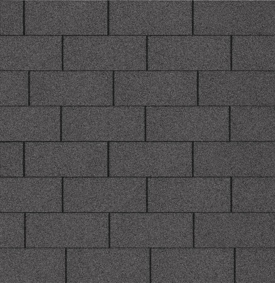 Bitumen - Dachschindeln Multi-Play schwarz 3m² Bild 1