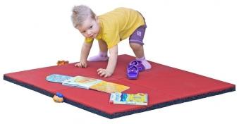 Fallschutzmatte Multi-Play rot 50x50x3,5cm 2er-Set Bild 2
