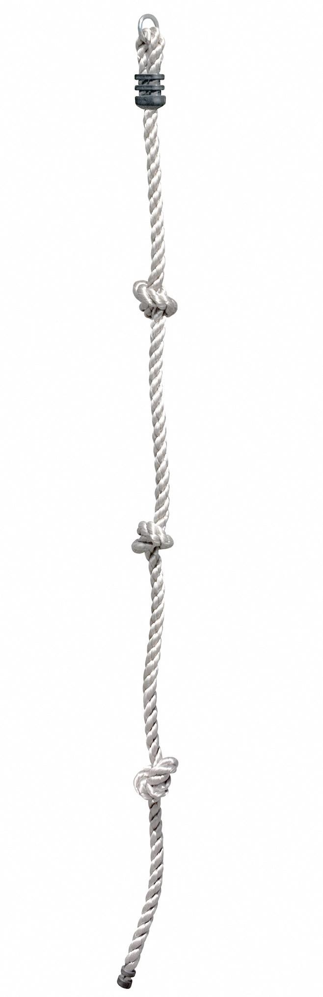 Kletterseil / Knotenseil mit 3 Knoten Multi-Play Bild 1