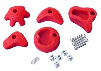 Klettersteine Multi-Play 5 Stück rot Bild 1