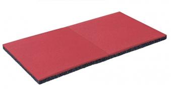 Fallschutzmatte Multi-Play rot 50x50x3,5cm 2er-Set