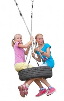 Schaukelaufhängung Multi Play Seilset für Reifenschaukel horizontal Bild 2