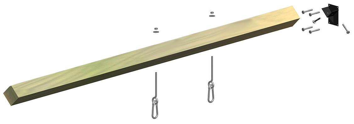 Schaukelbalken Multi-Play Länge 240 cm Bild 1