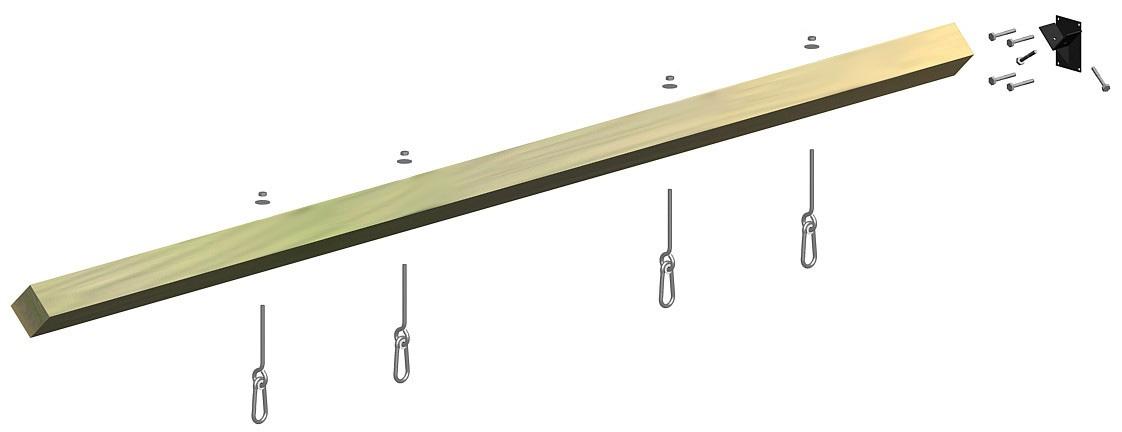 Schaukelbalken Multi-Play Länge 300 cm Bild 1