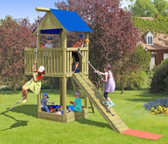 Spielanlage / Spielturm Woman Chief Multi-Play Bild 1