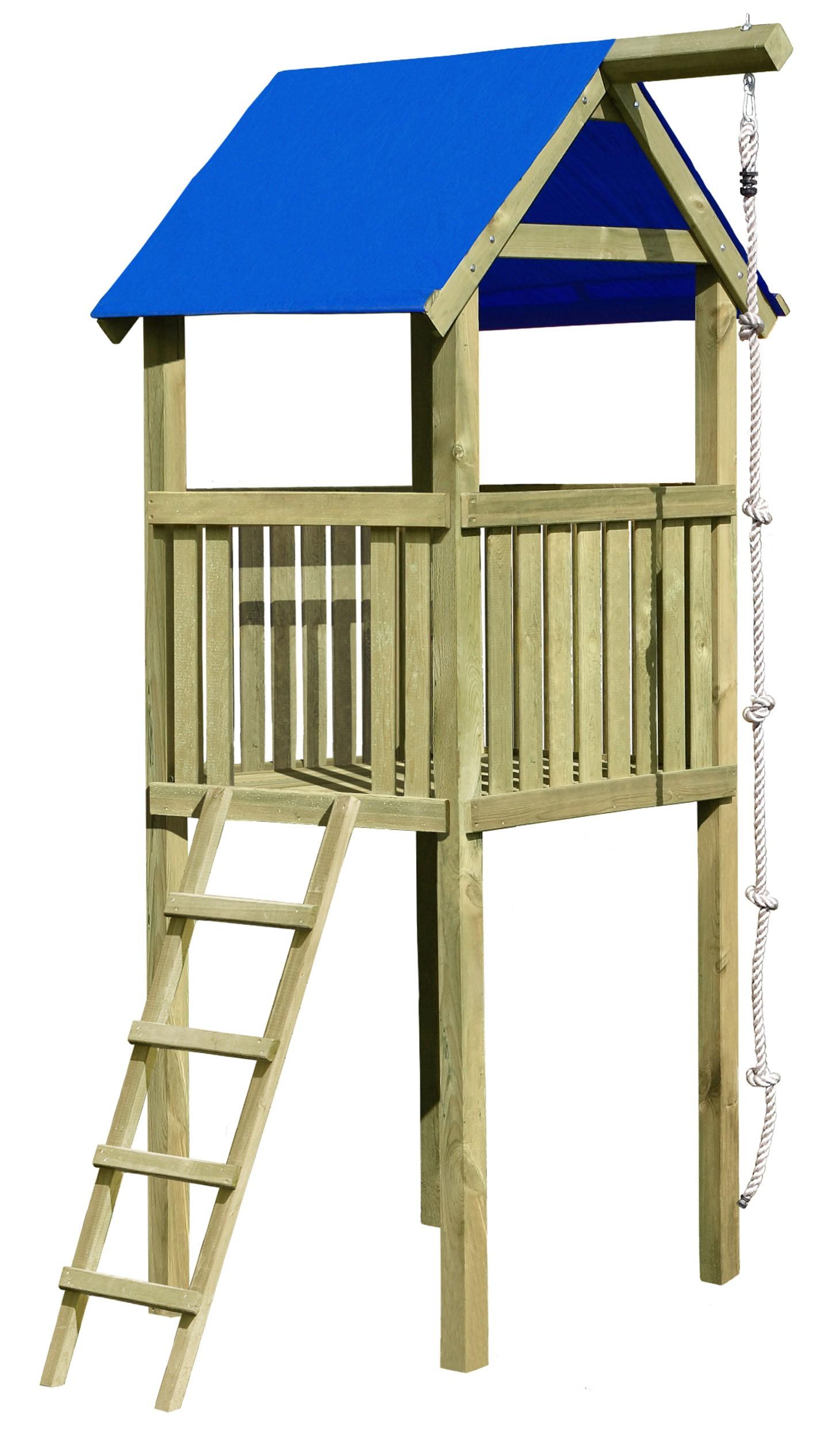 Spielturm / Grundturm Multi-Play 118 x 118 x 350 cm - bei ...