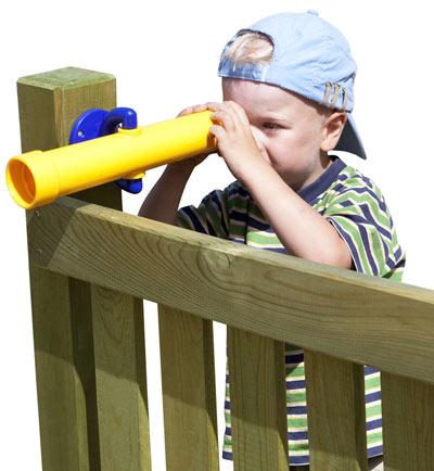 Teleskop-Fernrohr Multi-Play gelb Bild 2