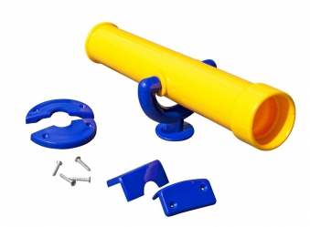 Teleskop-Fernrohr Multi-Play gelb Bild 1