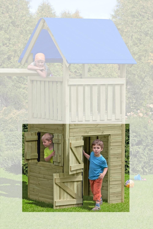 Wandelemente für ediToys Spielanlage / Spielturm 4er-Set Bild 1