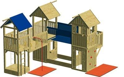 Spielturm Winnetoo GP708 Bild 1
