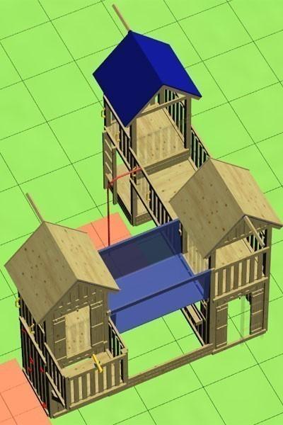 Spielturm Winnetoo GP708 Bild 2
