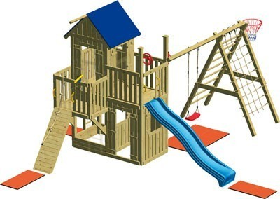 Spielturm Winnetoo GP714 Bild 2
