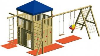 Spielturm Winnetoo GP809 Bild 2