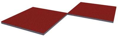 WINNETOO Fallschutzmatte (80) 50x50cm Stärke 25mm Bild 1
