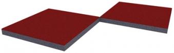 WINNETOO Fallschutzmatte (81) 50x50cm Stärke 45mm Bild 1