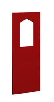 WINNETOO Fensterwand für Spielturm 90x138cm rot Bild 2