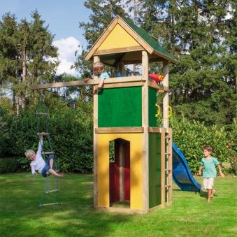 WINNETOO Giebel für Spielturm gelb Bild 3
